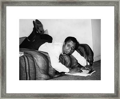 James Baldwin, 1963 Framed Print by Everett