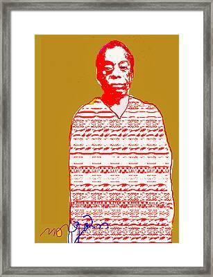 James Baldwin Framed Print by Noredin Morgan