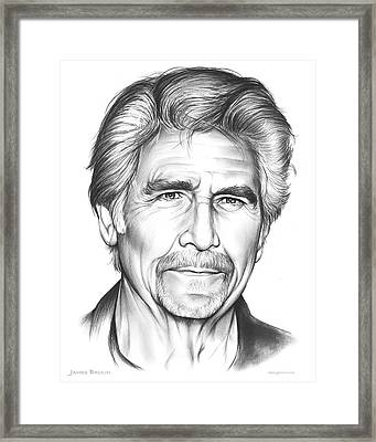 James Brolin Framed Print