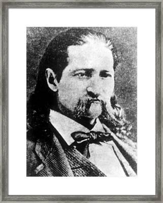 James Butler Hickok Aka Wild Bill Framed Print