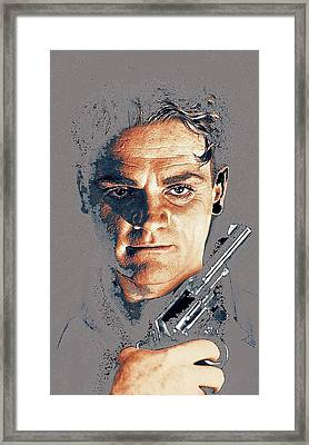 James Cagney Angels With Dirty Faces Close-up Publicity Photo 1939-2008 Framed Print by David Lee Guss