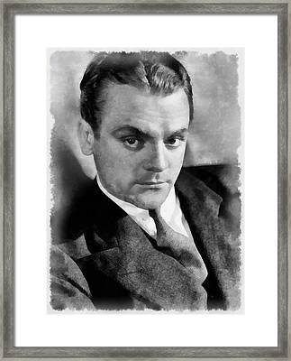 James Cagney By John Springfield Framed Print by John Springfield