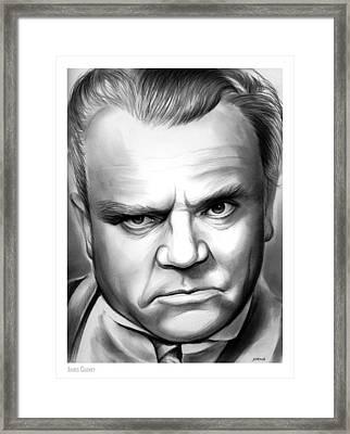 James Cagney Framed Print by Greg Joens