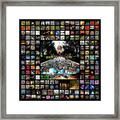 James Collage September 2012 Framed Print