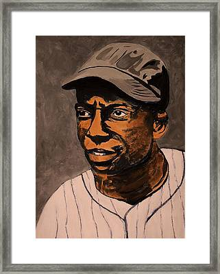 James Cool Papa Bell Framed Print