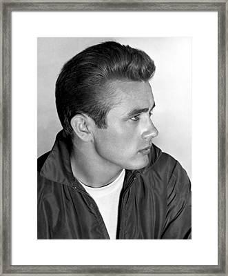 James Dean, 1955 Framed Print by Everett