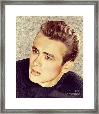 James Dean, Actor Framed Print