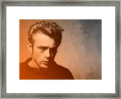 James Dean Framed Print by Debbie McIntyre