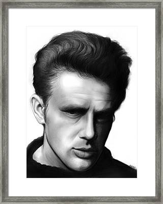 James Dean Framed Print