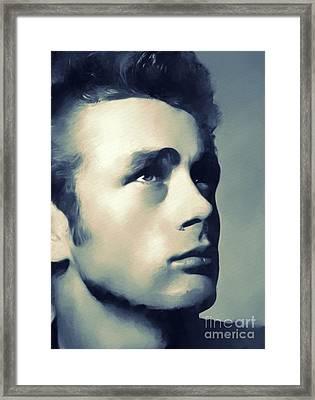 James Dean, Hollywood Classics Framed Print