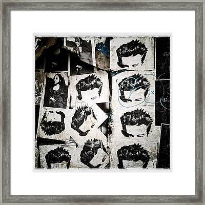 James Dean Framed Print by Natasha Marco