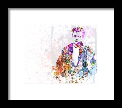 James Dean Framed Prints