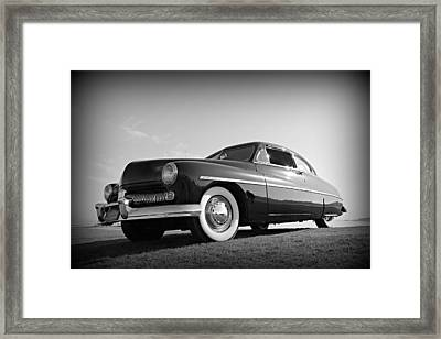 James Dean's Merc Framed Print