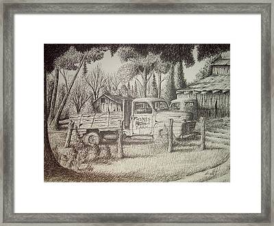 James Farm Framed Print by Chris Shepherd