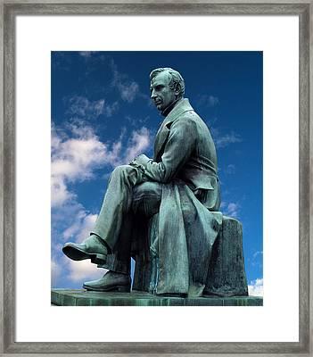 James Fenimore Cooper Framed Print by Pradeep Bangalore
