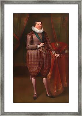 James I Of England Framed Print