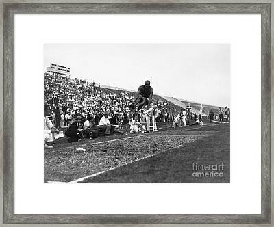 James Jesse Owens Framed Print by Granger