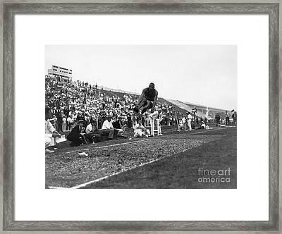 James Jesse Owens Framed Print by Granger