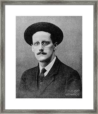 James Joyce (1882-1941) Framed Print