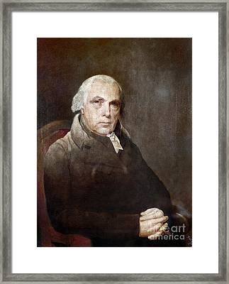 James Madison (1751-1836) Framed Print