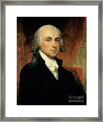 James Madison Framed Print by American School