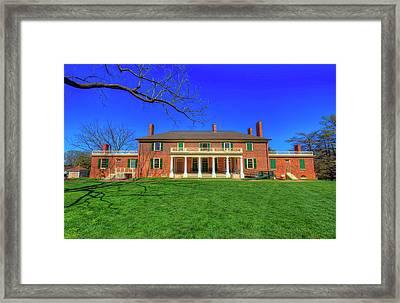 James Madison's Montpelier Framed Print