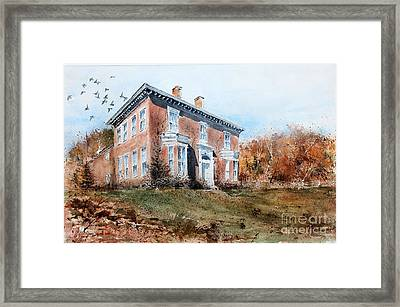 James Mcleaster House Framed Print