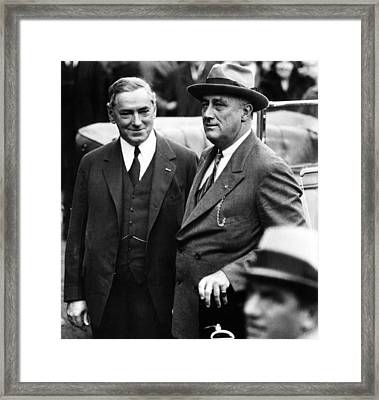 James Michael Curley, Mayor Of Boston Framed Print by Everett