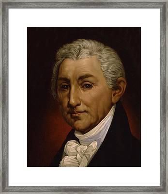 James Monroe - President Of The United States Of America Framed Print