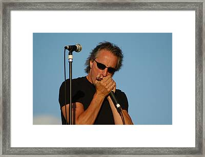 James Montgomery Framed Print by Mike Martin