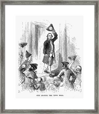 James Otis (1725-1783) Framed Print by Granger