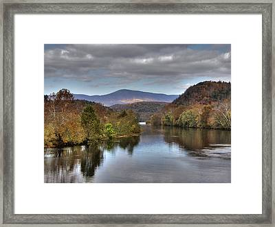 James River 1 Framed Print by Michael Edwards