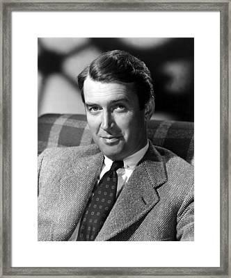 James Stewart, C. 1940s Framed Print by Everett