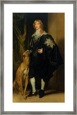 James Stuart - Duke Of Richmond And Lennox                       Framed Print
