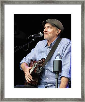 James Taylor 01 Framed Print by Julie Turner