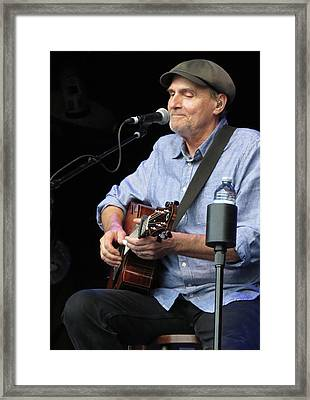 James Taylor 02 Framed Print by Julie Turner