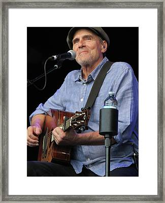 James Taylor 03 Framed Print by Julie Turner