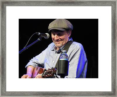 James Taylor 04 Framed Print by Julie Turner