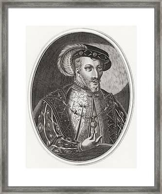James V, King Of Scots, 1512 Framed Print