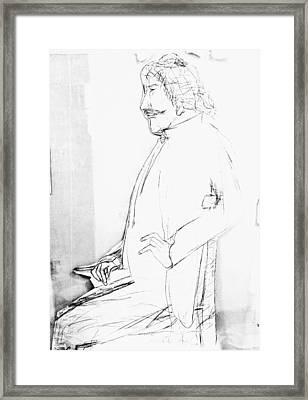 James Whistler's Portrait Framed Print