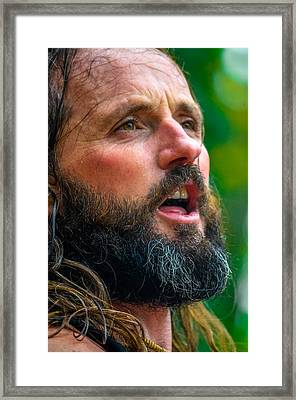 Jamesie Framed Print by Brian Stevens