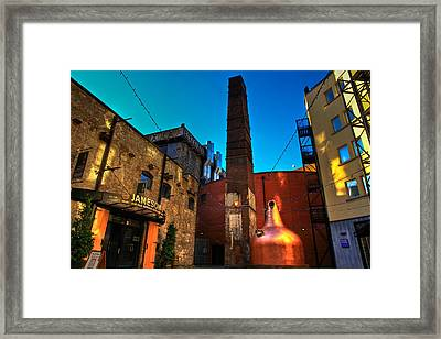 Jameson Distillery Framed Print by Justin Albrecht