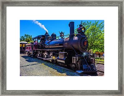 Jamestown Sierra No 3 Steam Train Framed Print by Garry Gay