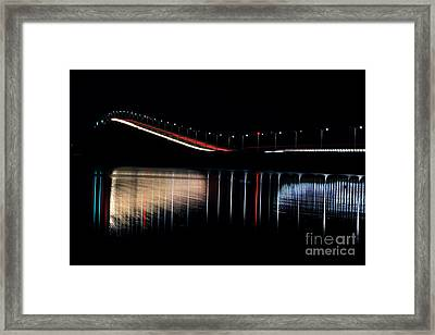 Jamestown Verrazzano Bridge Framed Print