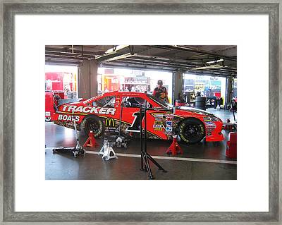 Jamie's Car Number 1 Framed Print