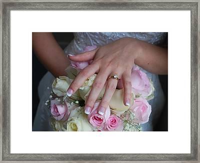 Jamies Hand Framed Print by Lori McCullough