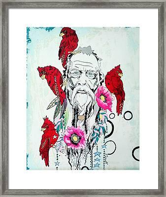 Jaminest Framed Print