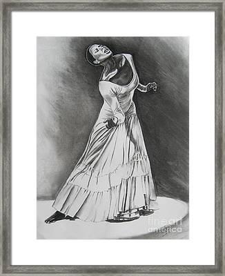 Jamison Framed Print by Toni  Thorne