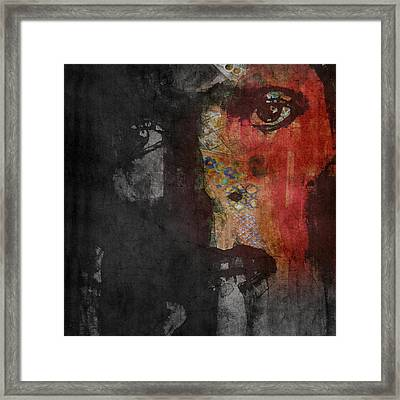 Jamming Good With Wierd And Gilly Framed Print by Paul Lovering