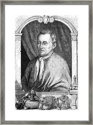 Jan Baptist Van Helmont, Flemish Chemist Framed Print by Science Source